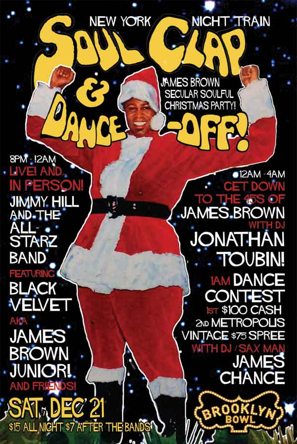 NEW YORK NIGHT TRAIN » Blog Archive » NYC! BROWN CHRISTMAS SOUL ...