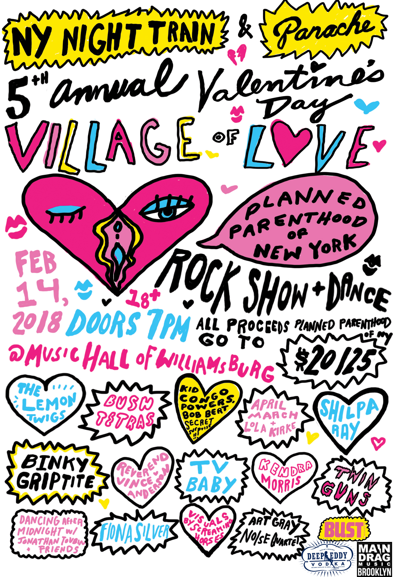 New York Night Train Blog Archive 5th Annual Village Of Love
